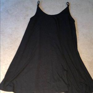Lou & Grey M black swing dress. Great condition.